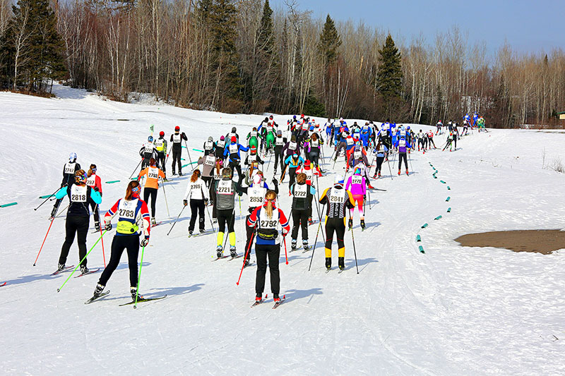 Cross Country Skiing at Giants Ridge